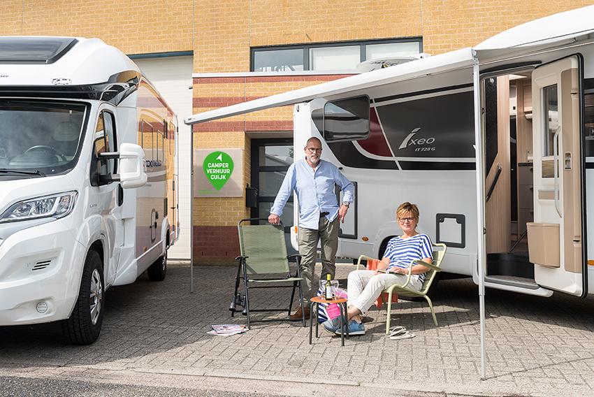 Camperverhuur Cuijk Anita Barten en Henk de Bruin