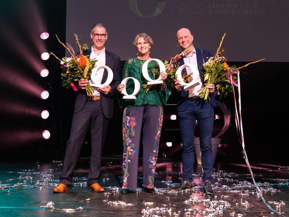 Winnaar Ondernemersprijs Erik Lanting Renske van den Berg Geert Meulensteen